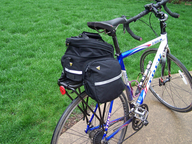 Topeak Rx Trunk Bag Expanded